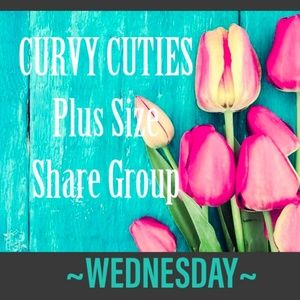 Tops - 5/22 (CLOSED) PLUS SHARE GROUP: Curvy Cuties